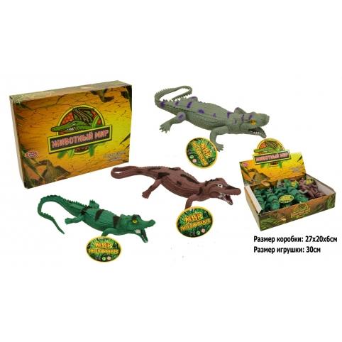 Тварини гумові-тягучки  Крокодили