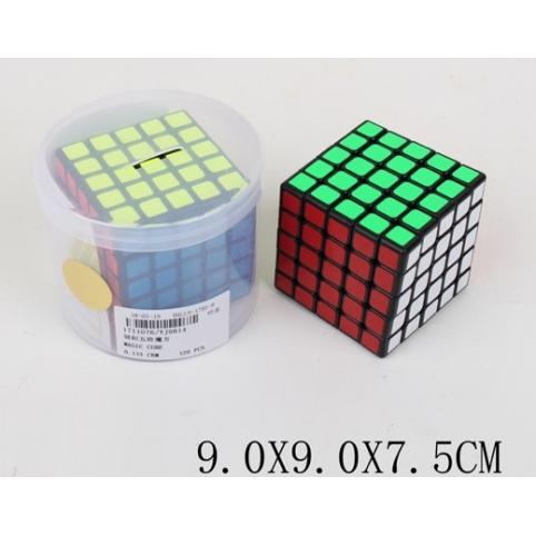 Кубик логика YJ9814 (1711076) (120шт4) 5*5, в тубусе 9*9*7,5см, р-р игрушки – 6*6*6 см рис. 1