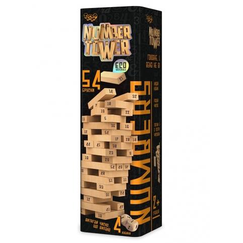 """Розвиваюча настільна гра """"NUMBER TOWER"""" укр.(6) рис. 1"""