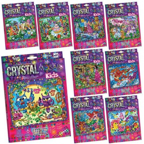 """Набір креативної творчості """"CRYSTAL MOSAIC KIDS"""" (20) рис. 1"""