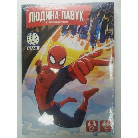 "Настільна розважальна гра ""Людина-павук"" укр (20) рис. 1"