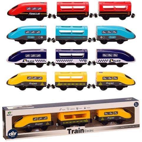 Поезд батар. AU9880123(96шт2) 2вида, 4цвета, в кор. 39*5*8,3см рис. 1