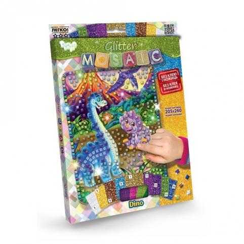 """Креативна творчість """"Блискуча мозаїка """"Glitter Mosaic"""" с.3 (20) рис. 1"""