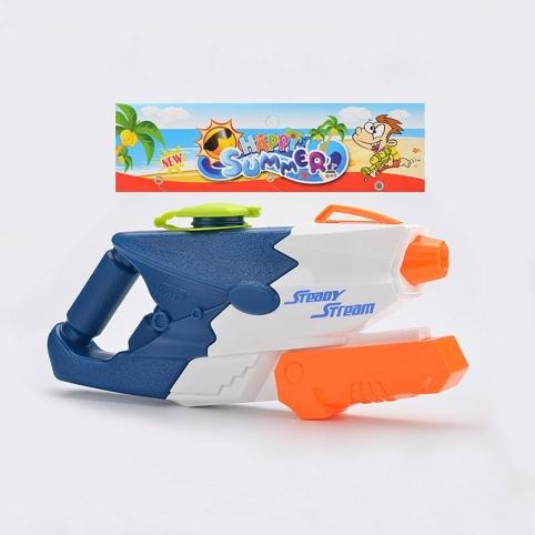 Водный пистолет 980 (48 шт)с насосом в пакете рис. 1