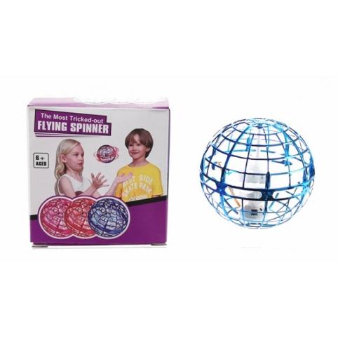 Запускалка H888 (25шт) игруш. летающ. шар Flying Spinner, управл рукой, 3 режима работы:парение,буме рис. 1