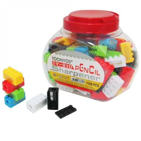 """Точилка """"Лего"""" ST01689 (3888шт) рис. 1"""