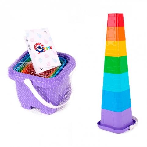 """Іграшка """"Пірамідка ТехноК"""", арт.6979 рис. 1"""