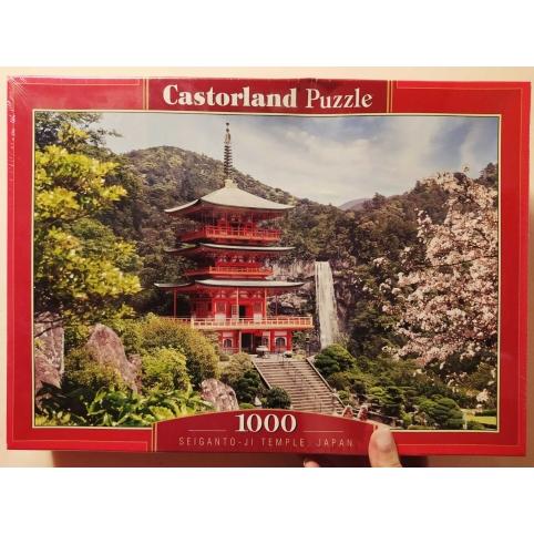 Пазлы Castorland Храм Сэйганто-дзи Япония, 1000 эл.(103201), размер картинки: 68*47см