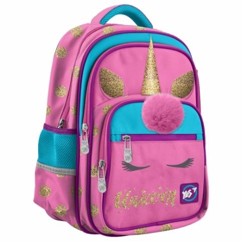 """Рюкзак шкільний YES S-37 """"Unicorn"""" рис. 1"""