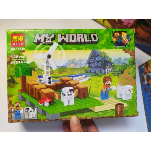 Конструктор Minecraft Ветряк  10949, 126 дет.