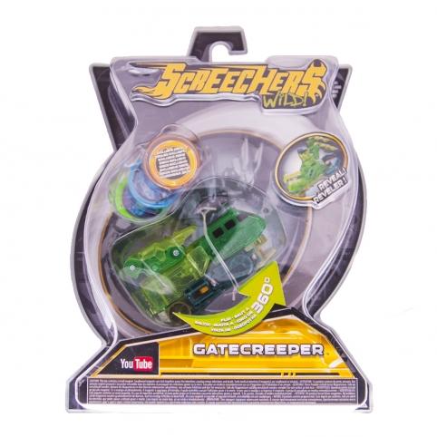 Машинка-трансформер SCREECHERS WILD! L2 - ГЕЙТКРІПЕР рис. 1