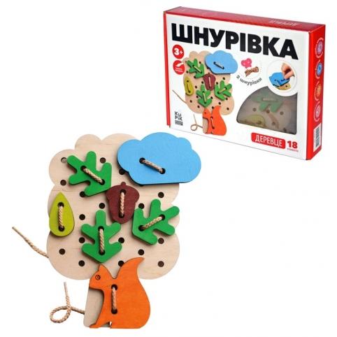 Шнуровка Деревце // рис. 1