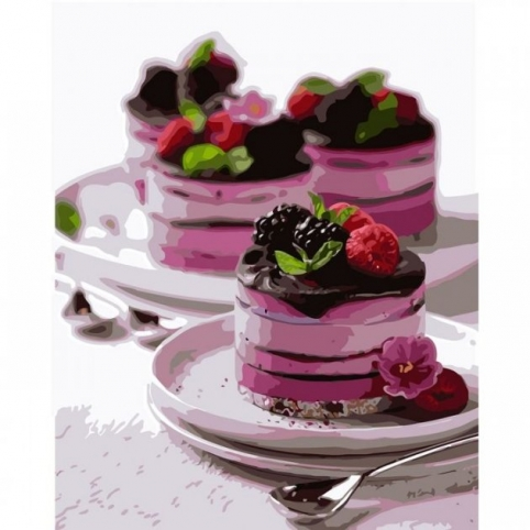 Картина по номерам Десерт для души КНО5584