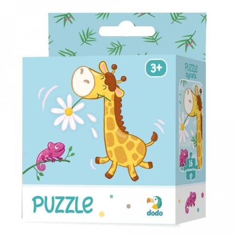 Жирафа. Простий пазл 21х21см, 16дет. (Dodo 300163) рис. 1