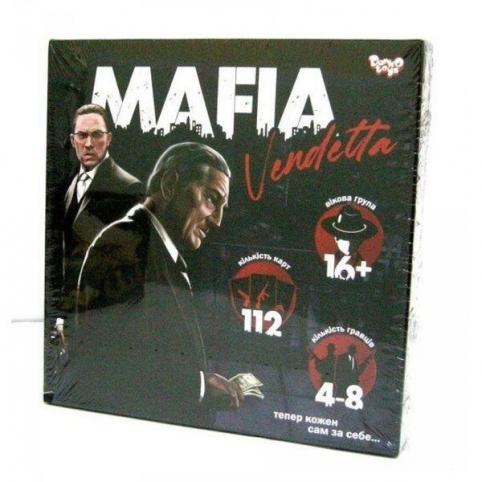 "Розважальна гра ""MAFIA Vendetta"" Danko Toys (MAF-01-01U)"