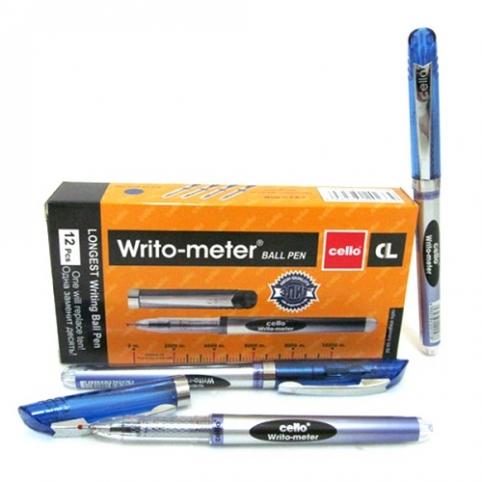 "Ручка масл CL-8048 ""Writo-meter"" 10км синяя Stenson (ST02258)"
