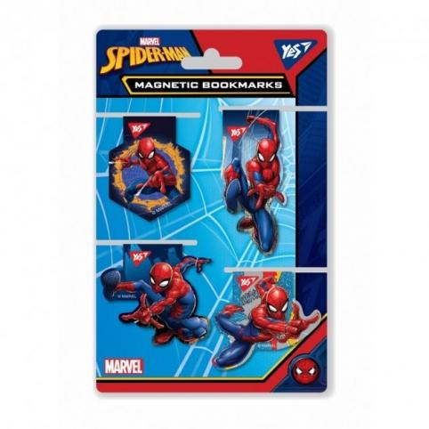 Закладки для книг YES Marvel магнитные высечка  (707403)