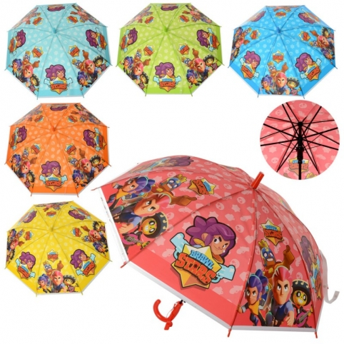 Зонт довж.66см., діам.83см, свисток,клейонка MK 4565