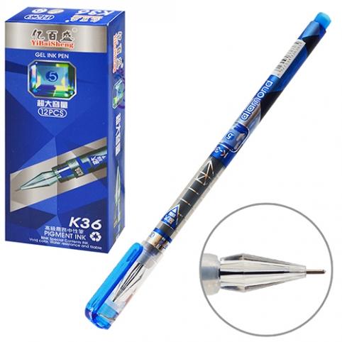 Ручка гелевая синяя ST01609 (1728шт) рис. 1