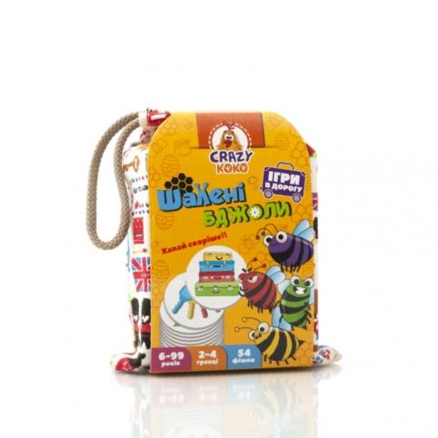 """Гра в мішечку """"Шалені бджоли"""" VT8077-15 (укр) рис. 1"""