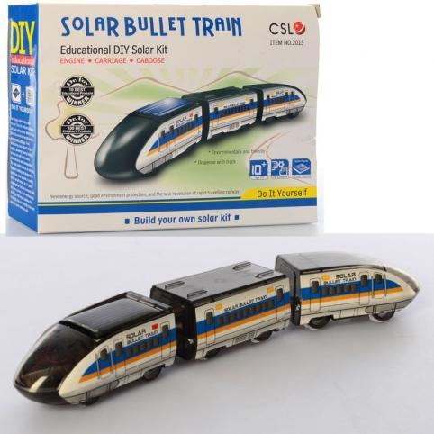 """Конструктор """"Поезд-пуля"""" на солнечной батарее SOLAR BULLET TRAIN 2015"""
