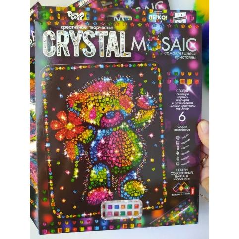 """Набір креативної творчості """"CRYSTAL MOSAIC"""" (20), CRM-01-01,02,03,04...10 ДАНКО ТОЙС рис. 1"""