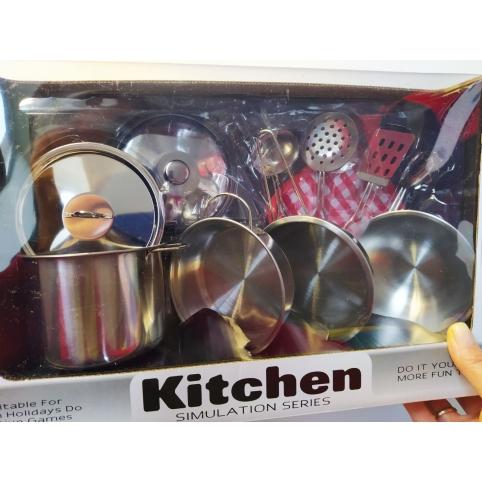 Посудка металлическая (555-BX)