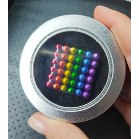 Магнитный конструктор NeoCube цветной 5мм (2000000051291)