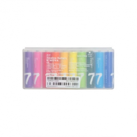 Батарейки Xiaomi Rainbow Zi7 Alkaline1,5V-S2/LR03
