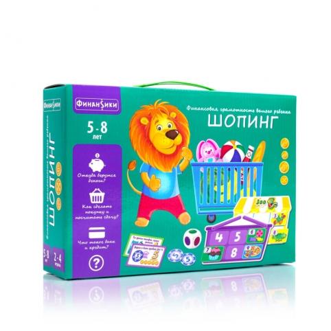 Игра настольная Vladi Toys Шопинг (VT2312-02)