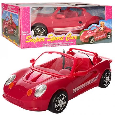 Машинка 22010 (12шт) 40см, для куклы 29см, свет, на бат-ке, в кор-ке, 40,5-15-22,5см рис. 1