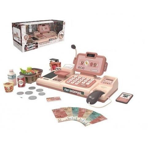 Детский кассовый аппарат 888 H/J микрофон,калькулятор