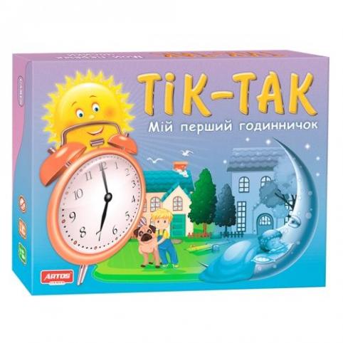 Настільна гра Годинник.Тік-так (20819)