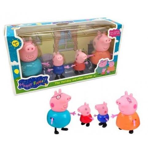 "набор PP605-4""Свинка Пеппа"" фигурки"