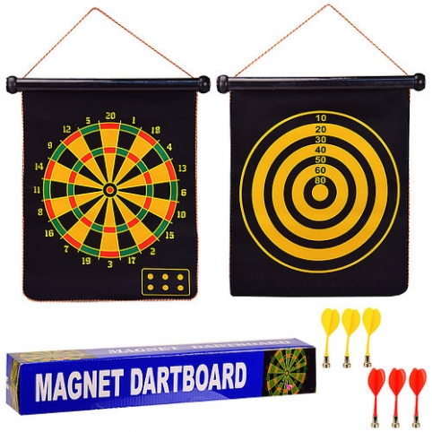 "Дартс DM170117"""" магнитный тканевый с 6 дротиками"