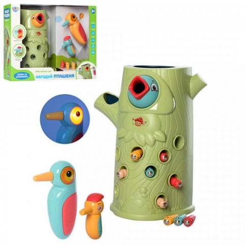 Детская развивающая магнитная игра Limo Toy Птенчик, FT0016