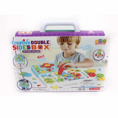 Мозаика 338A 4в1 Creative Double Sided Box