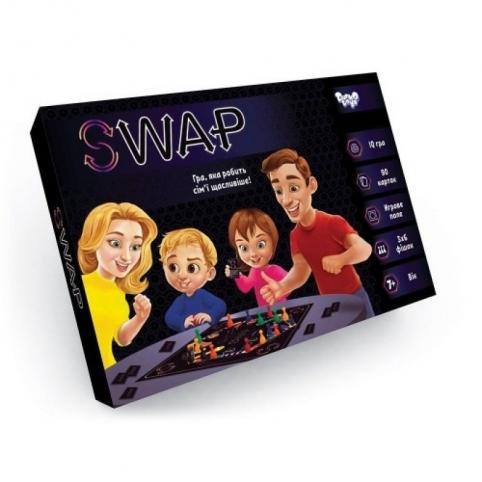"""Настільна розважальна гра """"Swap"""" укр (10)"""