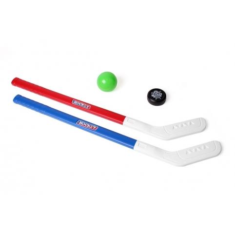 """Іграшка """"Набір для гри в хокей ТехноК"""" , 73 х 13.5 х 7 см, Арт.5569 рис. 1"""