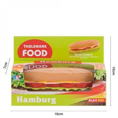 Продукты 8808 (144шт) гамбургер, 13см, в кор-ке, 16-10-7см рис. 1