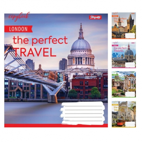 А5/36 кл. 1В Perfect travel, зошит для записів