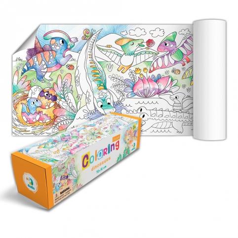 "300328 Розмальовка ""Динозаври"" рис. 1"