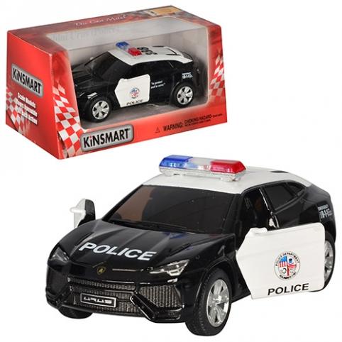 Машинка KT 5368 WP (24шт) металл,инер-я,полиция,12-5,5-4,5см,1:38,откр.дв,рез.колес,в кор,16-7,5-8см рис. 1