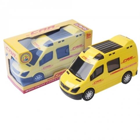 Машина 874 (48шт) 21см, муз, звук, свет, ездит, на бат-ке, в кор-ке, 21-1-9см рис. 1