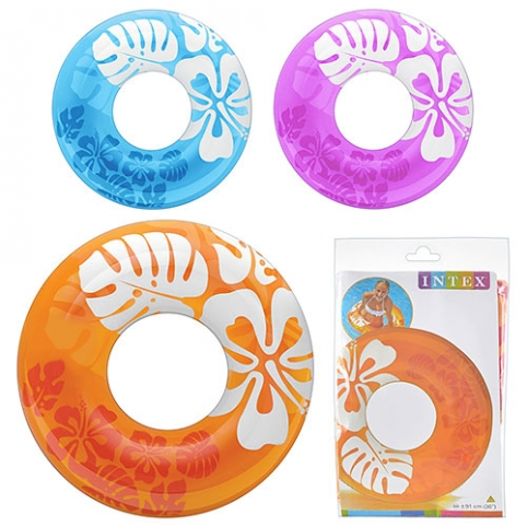 Круг 59251 (24шт)  91см, 3 цвета, в кульке, 23,5-16см рис. 1
