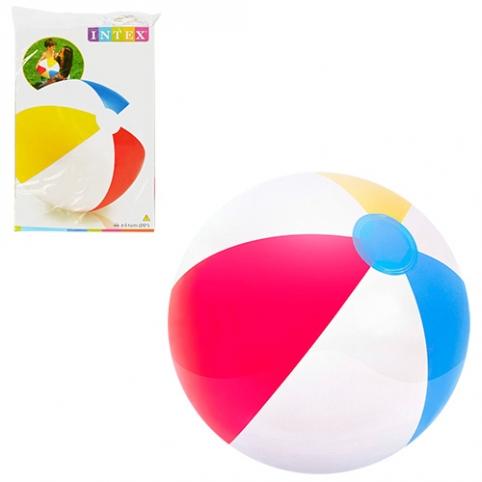 Мяч 59020 (36шт) полоски, 51см, в кульке, 15,5-25-1см рис. 1