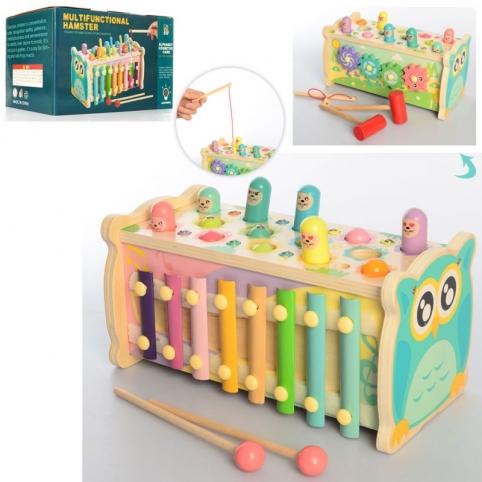 Дерев'яна іграшка Центр розвиваючий MD 2455 риболовля
