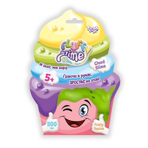 """В'язка маса """"Fluffy Slime"""" пакет 500 г укр (14) рис. 1"""