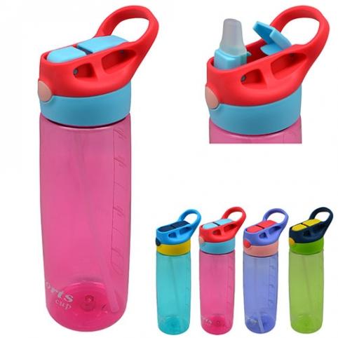 Бутылка-поилка спортивная 800мл 24.5*7.5см R25984 (60шт) рис. 1