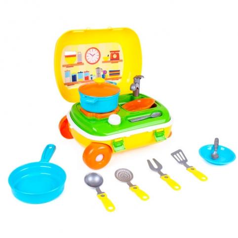 """Кухня з набором посуду Технок"""", Арт.6078"""